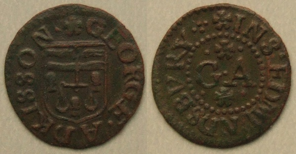 Bury St Edmunds 17th century token