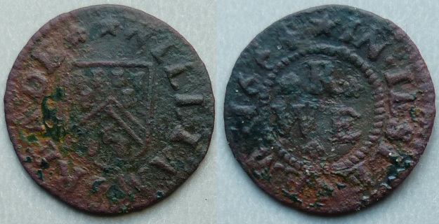 Isleham, William Reade 1664 farthing