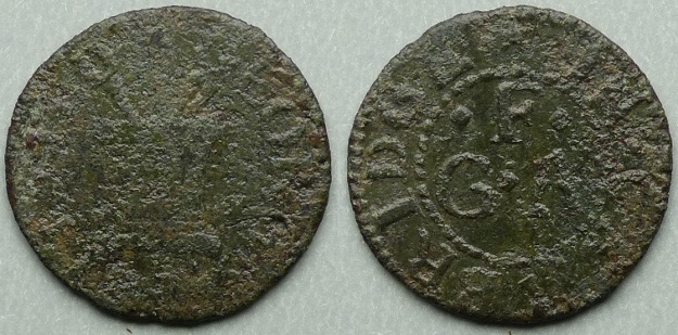Cambridge, George Fellsted farthing N384