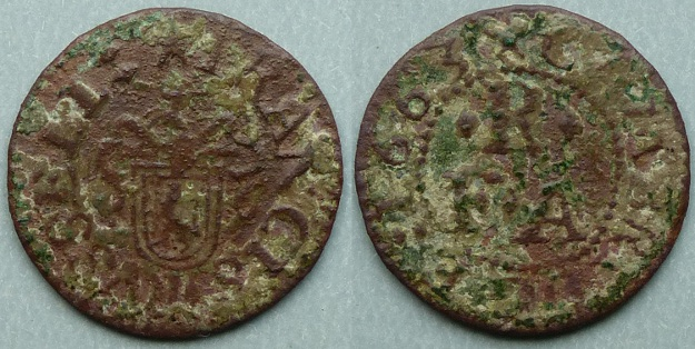 Cambridge, Francis Russell 1663 farthing
