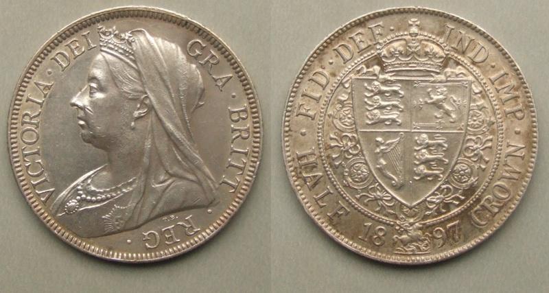 Queen Victoria silver halfcrown 1897 - £42 00 : Rare Coins