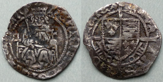 Henry VII, Sovereign type penny, Archbishop Rotherham
