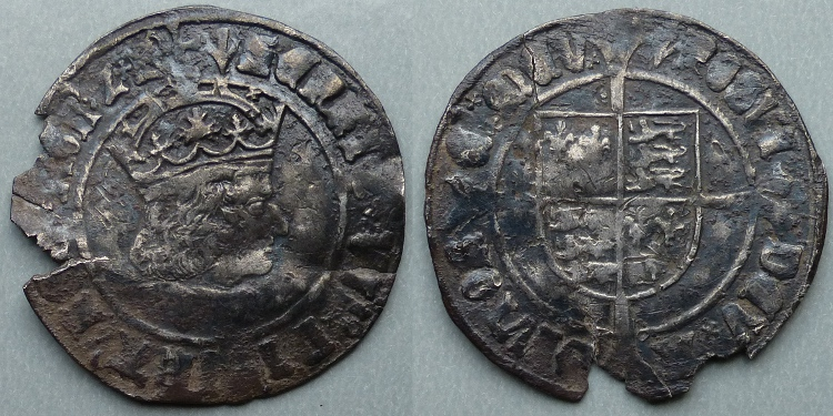 Henry VII, profile issue groat