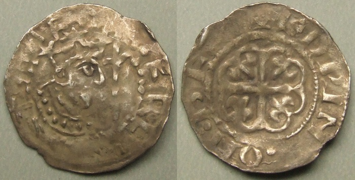 King Stephen, Hereford mint penny, Edwine