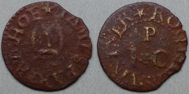 Royston, James Partrich farthing N2251