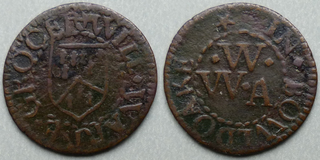 Baldock, Will Warre farthing token