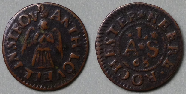Strood, Anth Lovell 1668 farthing