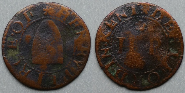 Dartford, Henry Peirce farthing token