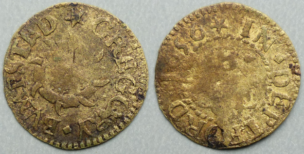 Deptford, Gregory Bumpsted 1656 farthing