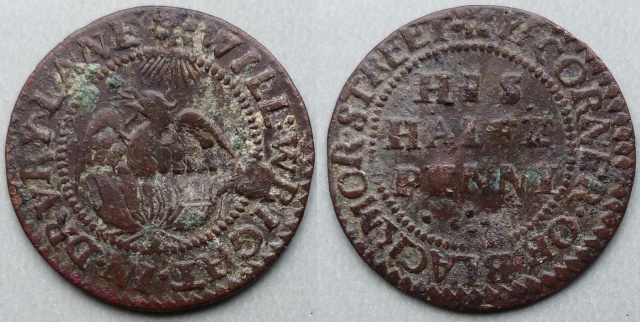 Drury Lane, Will Wright halfpenny token