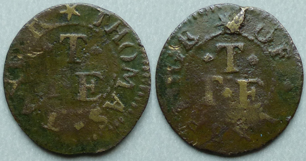 Uxbridge, Thomas Tayler farthing token