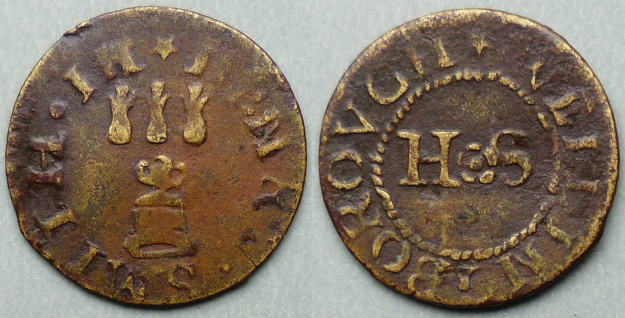 Wellingborough, Henry Smith farthing N3484
