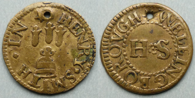Wellingborough, Henry Smith farthing N3483