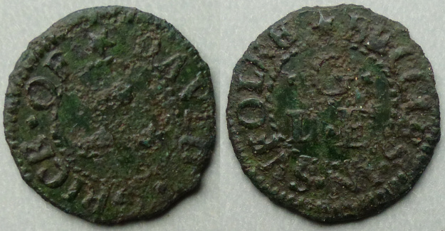 Beccles, David Grice fathing token