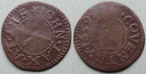 Coventry, John Lax 1659 farthing