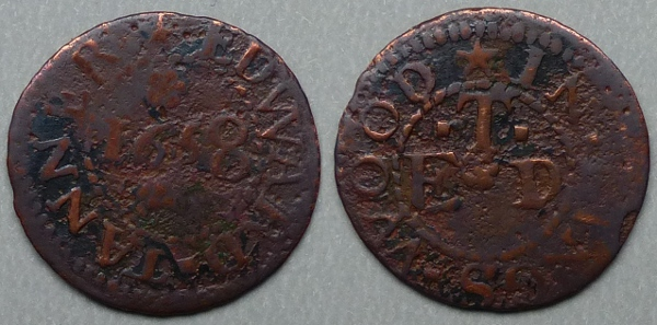 Kingswood, Edward Tanner 1658 farthing